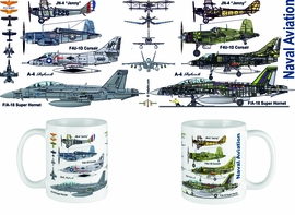 Naval Aviation Aircraft Mug