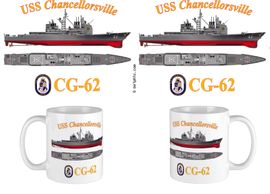USS Chancellorsville (CG-62) Coffee Mug