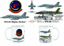 VFA-94 Mighty Shrikes F/A-18F Supere Hornet