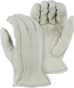 1510  PREMIUM A GRADE UNLINED GRAIN COWHIDE DRIVERS STYLE WORK GLOVES