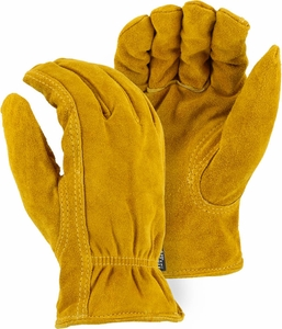 1513T HEAVY DUTY SPLIT COWHIDE 100g THINSULATE™ LINED DRIVERS STYLE WORK GLOVES
