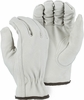 1660 GRAIN GOATSKIN RED FLEECE LINED DRIVER STYLE GLOVES