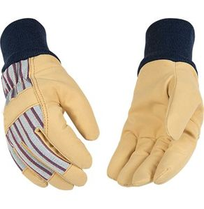 1927KW-C/Y SUEDE SYNTHETIC LEATHER SOFT-TOUCH&#153 LINED CHILD/YOUTH GLOVES