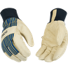 1928 & 1928KW KINCO GOLDEN GRAIN PIGSKIN WINTER WORK GLOVES