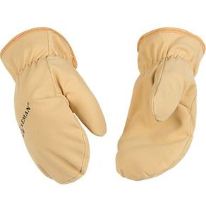 1930C/Y  AXEMAN&#174 SUEDE SYNTHETIC LEATHER SOFT-TOUCH&#153 LINED CHILD/YOUTH MITTS