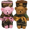 1971 PLUSH BEAR-N-BLANKET GIFT SET