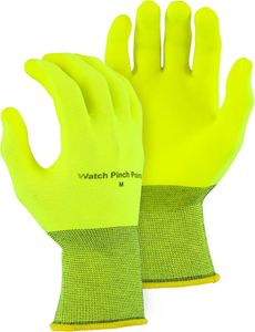 3368HVY SUPERDEX® HYDROPELLENT HI-VIS WATER REPELLENT PVC PALM DIPPED GLOVES