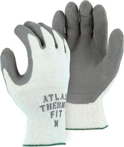 3388 ATLAS<sup>&#174</sup> THERMA FIT WINTER LINED WRINKLED LATEX PALM COATED PREMIUM KNIT WORK GLOVES - BULK
