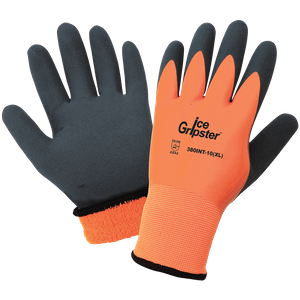 380INT ICE GRIPSTER<SUP>&#174;</SUP> WATERPROOF INSULATED FOAM RUBBER GRIP GLOVES