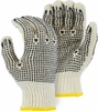 3855P STRING KNIT GLOVES w/PVC DOTS FOR GRIP - BULK