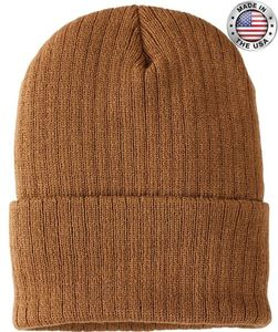 40076 RIBBED KNIT CUFF HAT