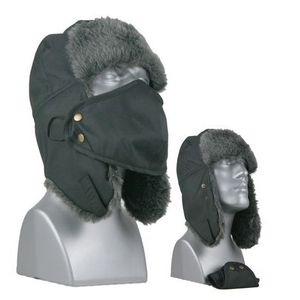 60655 TUSSER TRAPPER HAT w/REMOVABLE MASK