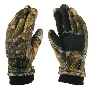 63139 WATERPROOF & INSULATED BRUSHED TRICOT REALTREE&#174 XTRA CAMO GLOVES