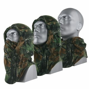 66102 HIGHLAND TIMBER&#153 SPORT FLEECE 3-IN-1 HOOD-GAITER-MASK