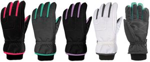 71235 LADIES TUSSER WATERPROOF THINSULATE&#153 LINED SKI GLOVES