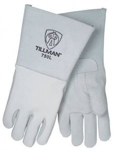 750 TILLMAN&#174 PREMIUM TOP GRAIN PEARL ELKSKIN WELDING GLOVES