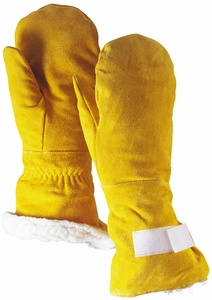 7844 EXTRA LONG HEAVY SHERPA PILE LINED SPLIT COWHIDE CHOPPER MITTENS SOLD OUT FOR THE SEASON