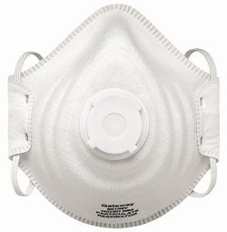 80102V N95 PEAKFIT&#174 PARTICULATE RESPIRATOR VENTED DUST MASKS