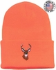 40176E-DEER SUPERSTRETCH CUFF HAT w/DEER EMBROIDERY