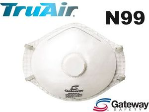 80402V N99 TRUAIR<sup>&#174</sup> VENTED PARTICULATE RESPIRATOR
