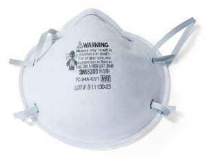 8200 N95 3M™ PARTICULATE RESPIRATOR DUST MASKS