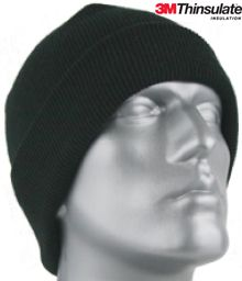 846 BASIC THINSULATE&#153 LINED CUFF HAT