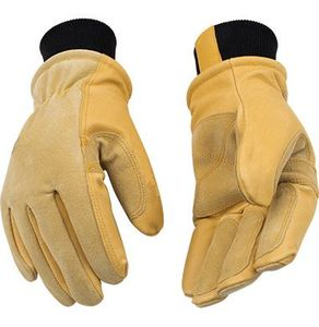 901 PREMIUM FULL GRAIN PIGSKIN NIKWAX WATERPROOF THERMAL HEATKEEP&#174 LINED SKI GLOVES