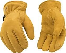 903HK FULL SOFT SUEDE DEERSKIN HEATKEEP® LINED DRIVERS STYLE GLOVES<BR>CLOSEOUT PRICED!