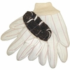 "UDCW3J-PK ""POLAR FACE"" CORDED CANVAS POLY COTTON GLOVES w/WOOL LINER"