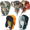 FAUX FUR ALASKAN TRAPPER HATS - HUNTING SERIES<BR>CLOSEOUT PRICED!