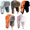 HG-SERIES GENUINE RABBIT FUR ALASKAN TRAPPER HATS - HUNTING SERIES<br>CLOSEOUT PRICED!