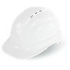 HH-C3 CAP STYLE VENTED HARD HATS w/6-POINT RATCHET SUSPENSION