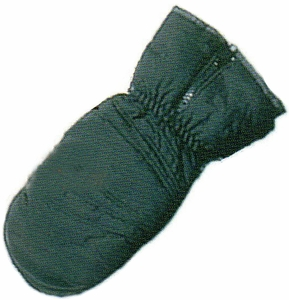 MM-950-B ADULT POLAR WEAR THINSULATE&#153 LINED WATER REPELLENT SKI MITTENS