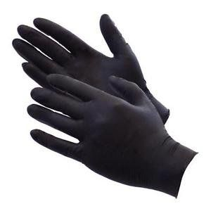 "V900BPF 5-6mil BLACK NITRILE POWDER FREE TEXTURED DISPOSABLE GLOVES<font color=""000000"">"