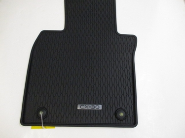 2020 2021 Mazda CX-30 All Weather Floor Mats - Low Wall (SET OF 4) DGH9V0350