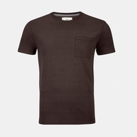 Mazda Men's Graphic Print Pocket Cotton T-Shirt  Aubergine ESSRE2