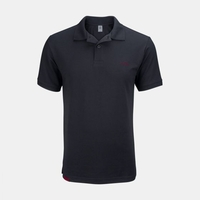 Mazda Men's MX-5 Cup Embroidered-Logo Pique Polo Smoke Gray MMMX52