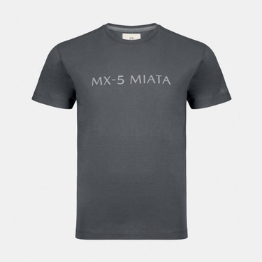 Mazda Men's MX-5 Miata Navy Print Cotton T-Shirt ESST1NAVY