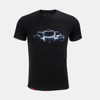 Mazda Men's RT24-P Print T-Shirt Black RETJ1