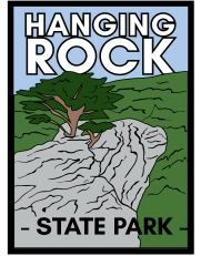 Hanging Rock State Park Hiking Medallion