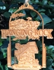 Hanging Rock State Park Wood Christmas Ornament