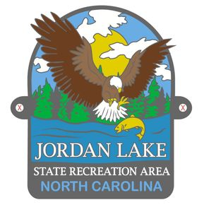 Jordan Lake State Recreation Area Hiking Medallion