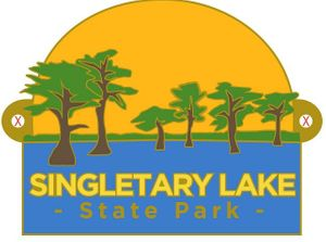Singletary Lake State Park Hiking Medallion