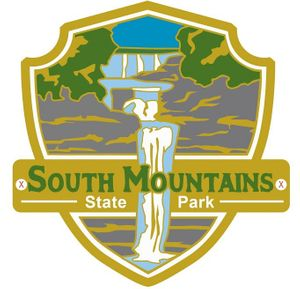 South Mountains State Park Hiking Medallion