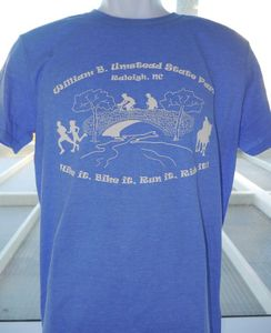 William B Umstead State Park Hike, Bike, Ride T-shirts