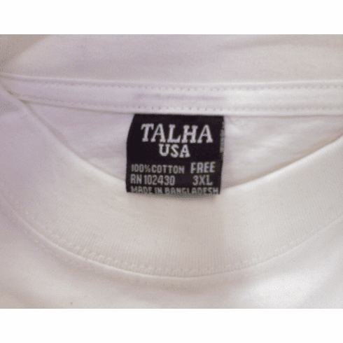 TALHA  12 Pcs T-shirt  100% cotton