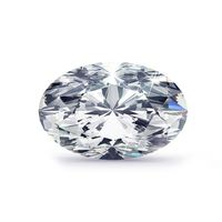 1.00ct Oval Lab Grown Diamond, D color, SI1 clarity, IGI certified