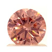 1.03ct Round Brilliant Fancy Pink Lab Grown Diamond