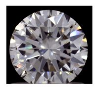 1.01ct Round Brilliant Diamond, Lab Grown, I color, VS2 clarity