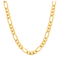 10K Yellow Gold Figaro Necklace